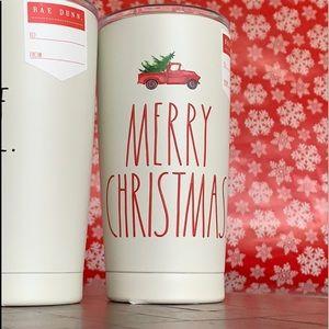 Rae Dunn Stainless Steel Christmas Tumbler